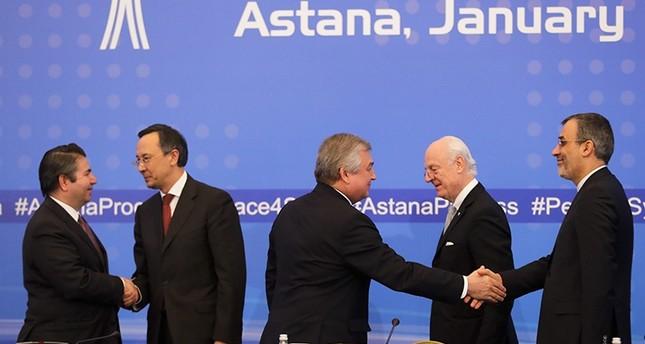 من اجتماعات أستانا السابقة (AP)