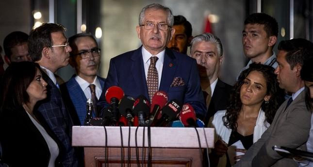 رئيس اللجنة العليا للانتخابات في تركيا سعدي غوفن