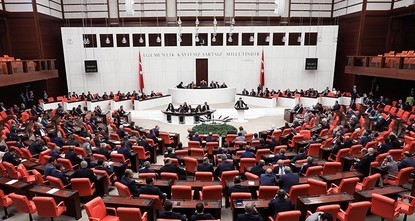 pThe Turkish Parliament approved a motion to extend Turkey's military mandate for Iraq and Syria for one year on Saturday.br /