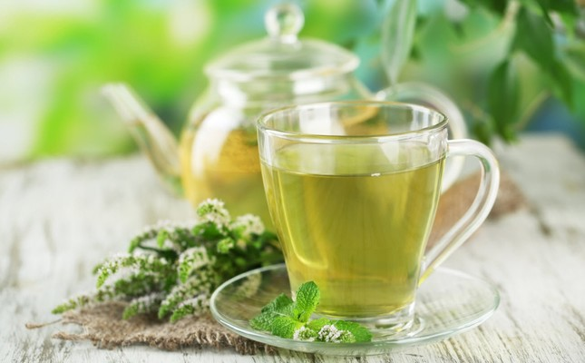 Green tea's antioxidants have a reductive effect on inflammation.