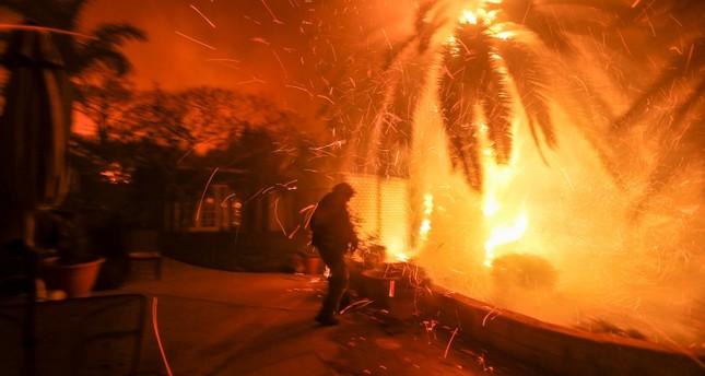 إعلان حالة الطوارئ في كاليفورنيا بعد مصرع 9 في حرائق غابات