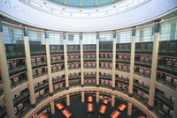 Massive library bookends Turkey's Presidential Complex