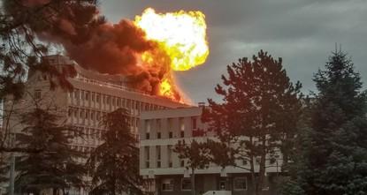 Gasexplosion auf Uni-Dach in Frankreich: 3 Verletzte