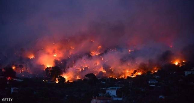 رئيس البرلمان التركي يعزي نظيره اليوناني بضحايا الحرائق