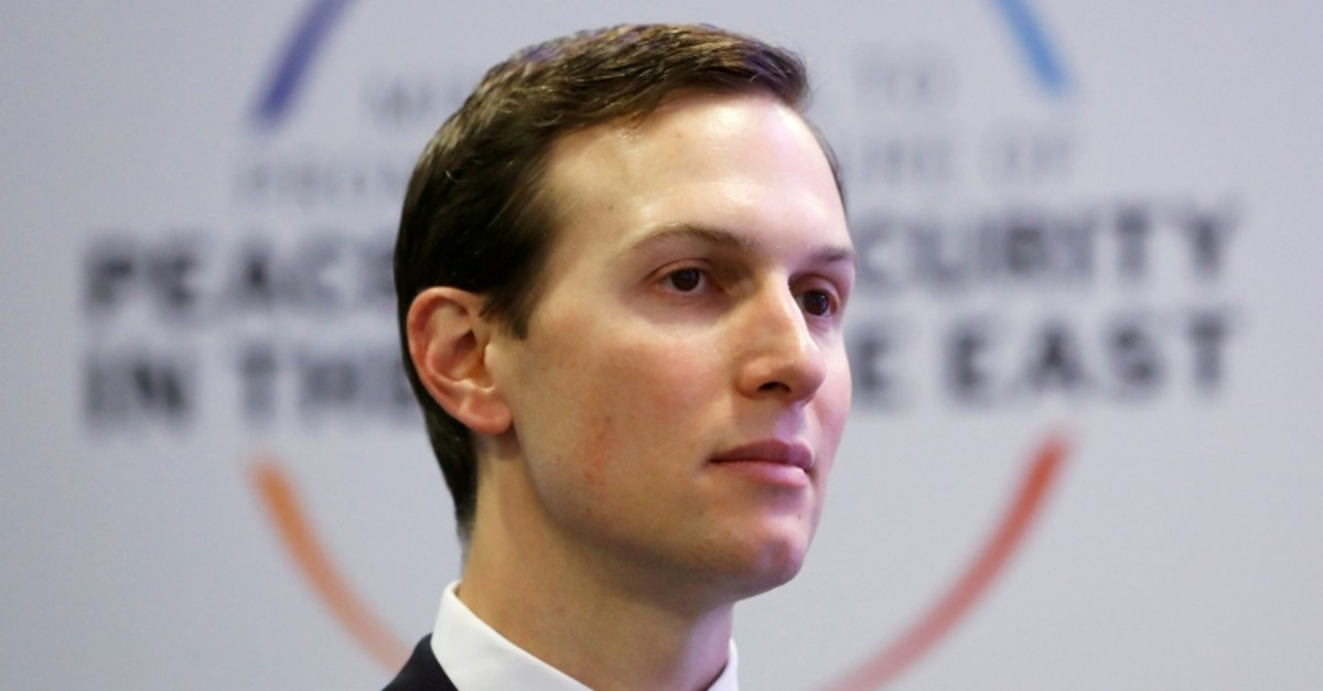 White House adviser Jared Kushner looks on during the Middle East summit in Warsaw, Poland, February 14, 2019. (Reuters Photo)