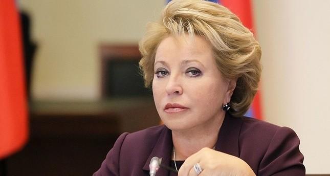 فالانتينا ماتفيينكو نائب رئيس مجلس الاتحاد الروسي صورة من ويكيبديا