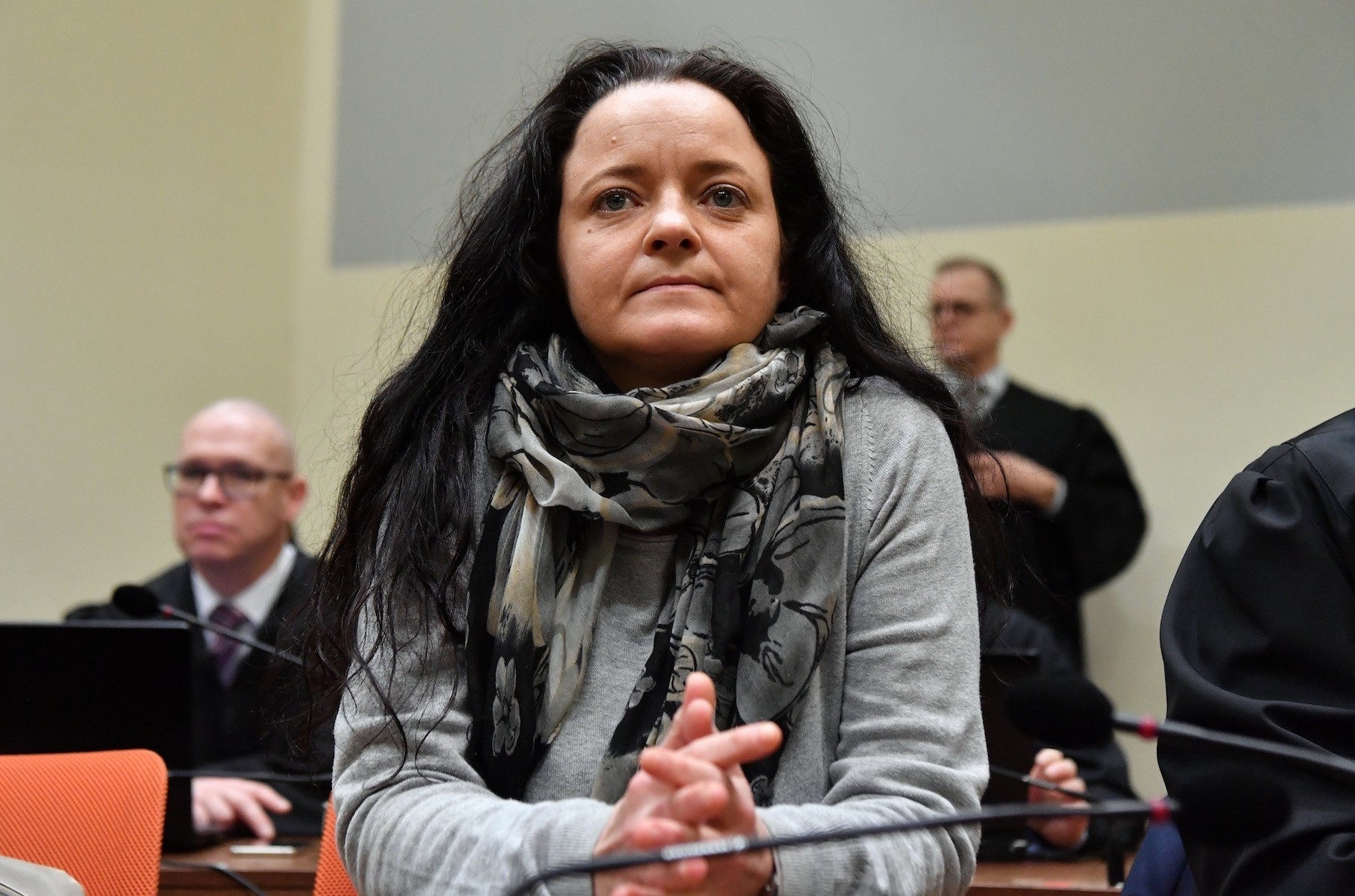Beate Zschaepe, seen here in a Munich courtroom as defendant, is the only surviving member of the NSU and faces a life sentence if convicted.
