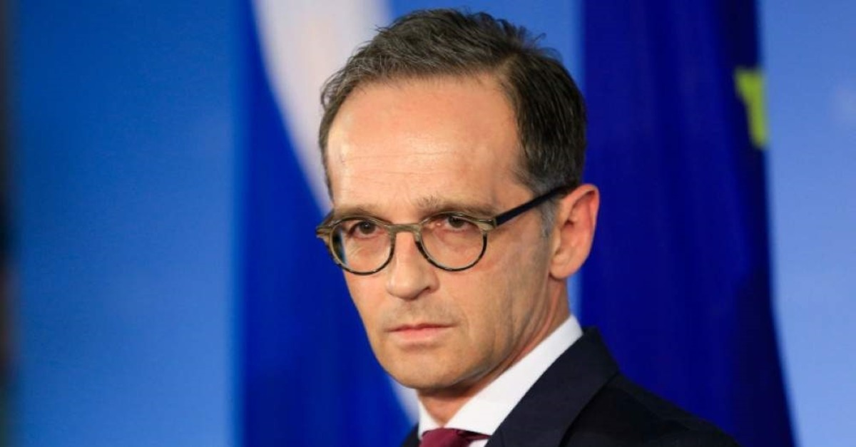 Foreign Minister Heiko Maas. (AA Photo)