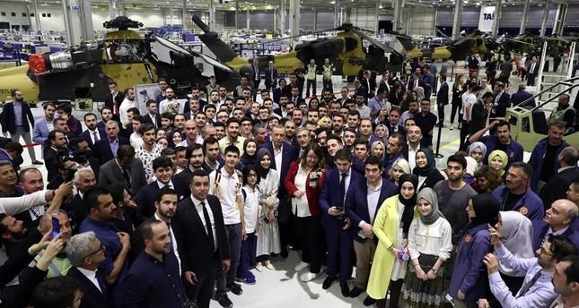 أردوغان: تركيا باتت منافسًا قوياً للعالم في مجال الصناعات الدفاعية