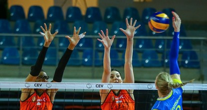 Eczacıbaşı VitrA reaches Women's CEV Cup final