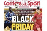 Italian sports paper draws criticism over 'Black Friday' headline