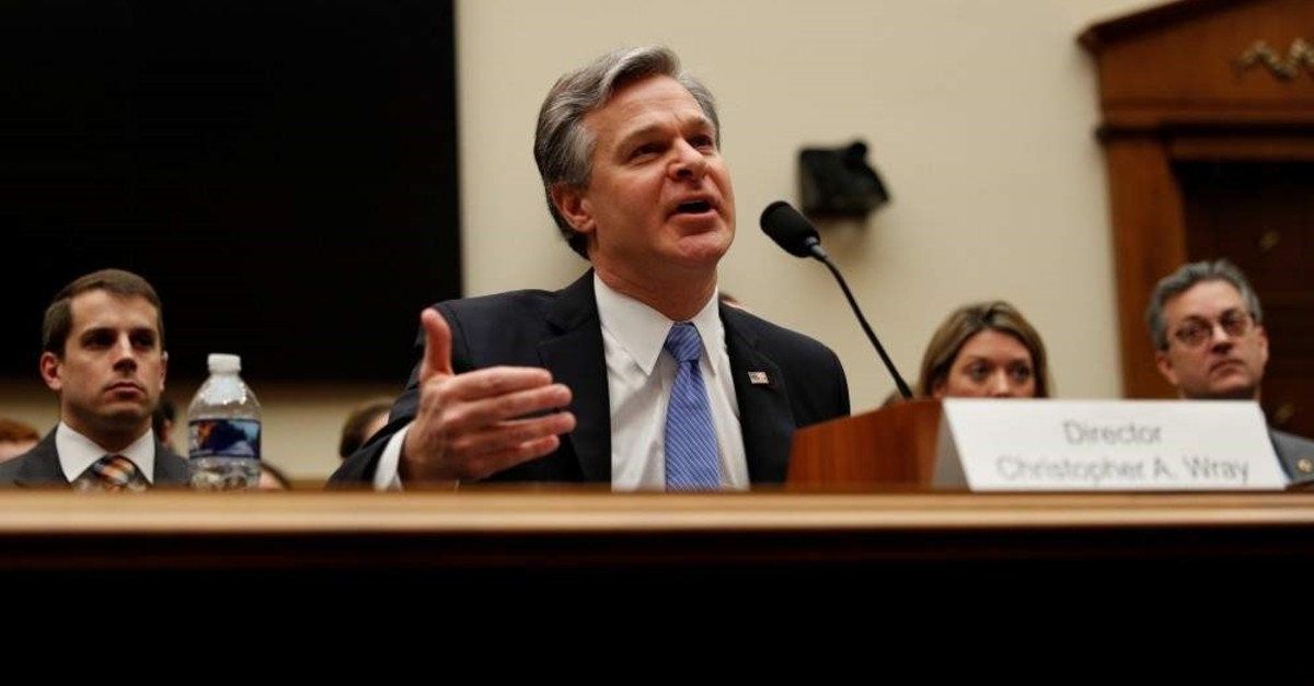 U.S. Federal Bureau of Investigation Director Christopher Wray testifies before the House Judiciary Committee on Capitol Hill in Washington, U.S., Feb. 5, 2020. (Reuters Photo)