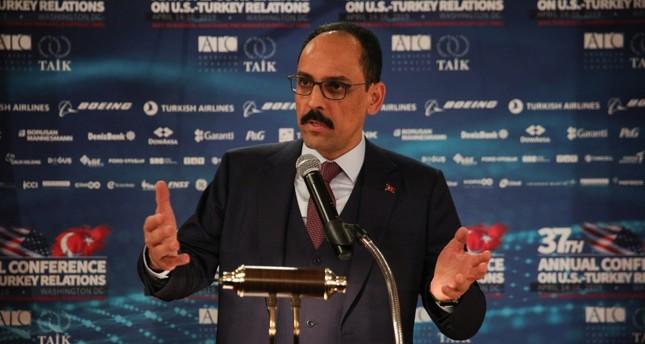 المتحدث باسم الرئاسة التركية إبراهيم قالن (الأناضول)