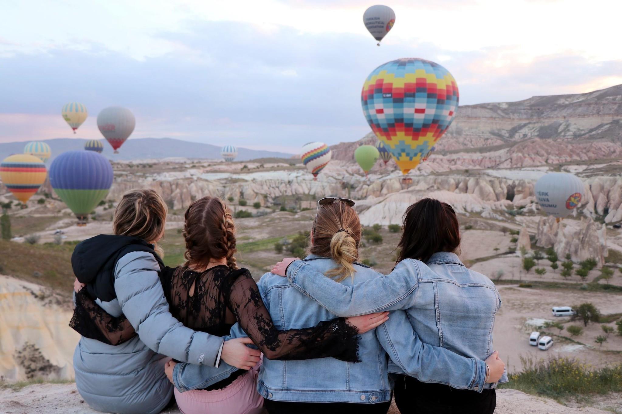 Turkey welcomed around 32.4 million tourists in 2017, according to the Turkish Statistical Institute (TurkStat).