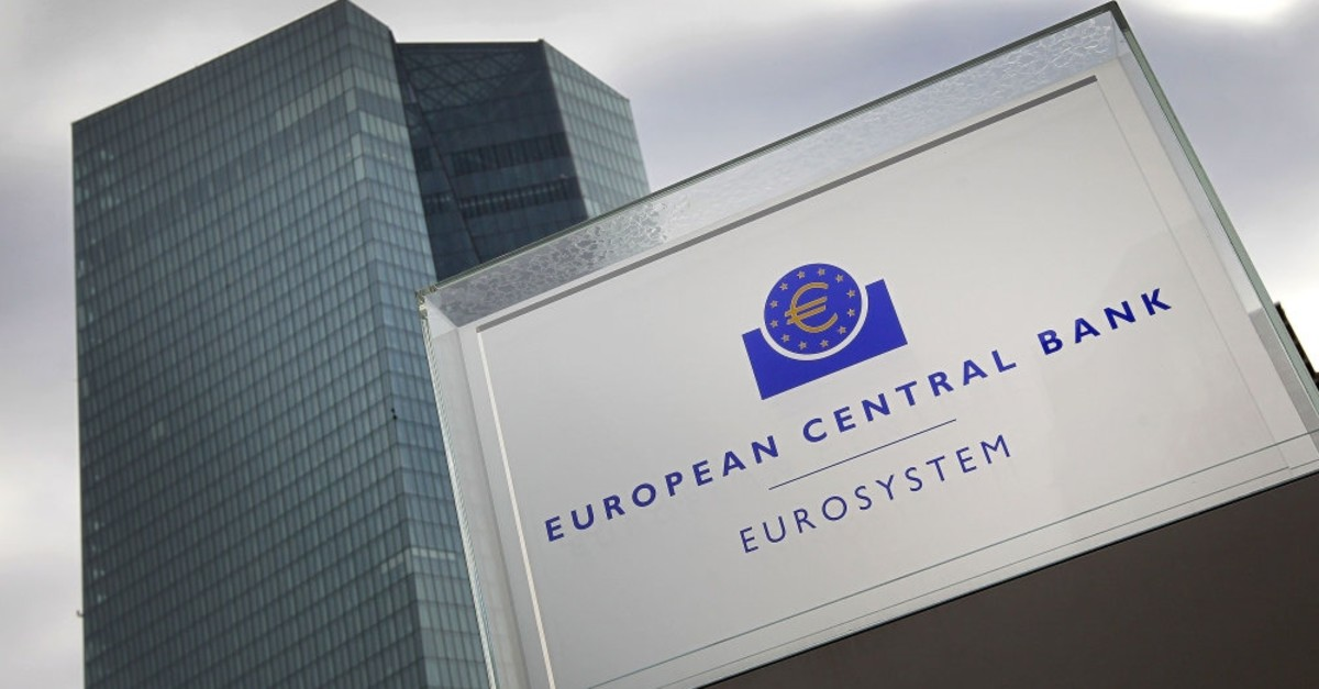 The headquarter of the European Central Bank in Frankfurt.