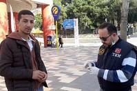 دوريات الشرطة لمراقبة احترام ارتداء الكمامات DHA