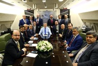 President Recep Tayyip Erdoğan, speaking to journalists accompanying him during his tour of the Gulf countries, including visits to Bahrain, Saudi Arabia and Qatar, said strategic relations between...