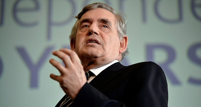 Former UK PM Brown warns of new financial crisis coming from Asia
