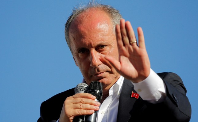 Those who cling to their seats are pursuing every method to keep their position, Muharrem İnce tweeted, referring to party Chairman Kemal Kılıçdaroğlu.