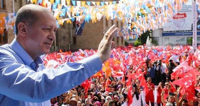 أردوغان: وعي الشعب التركي يقف حائلًا في وجه الراغبين في تكرار سيناريو إعدام مندريس