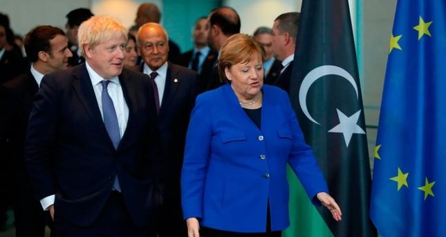 جونسون: مستعدون لمراقبة وقف إطلاق النار بليبيا إذا توصل إليه مؤتمر برلين