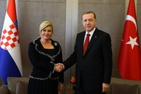 Croatia's Kitarovic to visit Turkey, meet Erdoğan