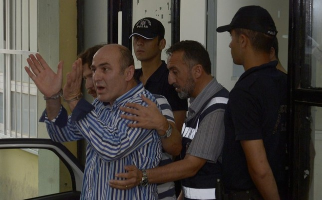 Former police intelligence chief Ali Fuat Yılmazer, seen here after his arrest in 2014, is among the defendants in the indictment. Yılmazer was also involved in a string of FETÖ plots to stifle the group's critics.