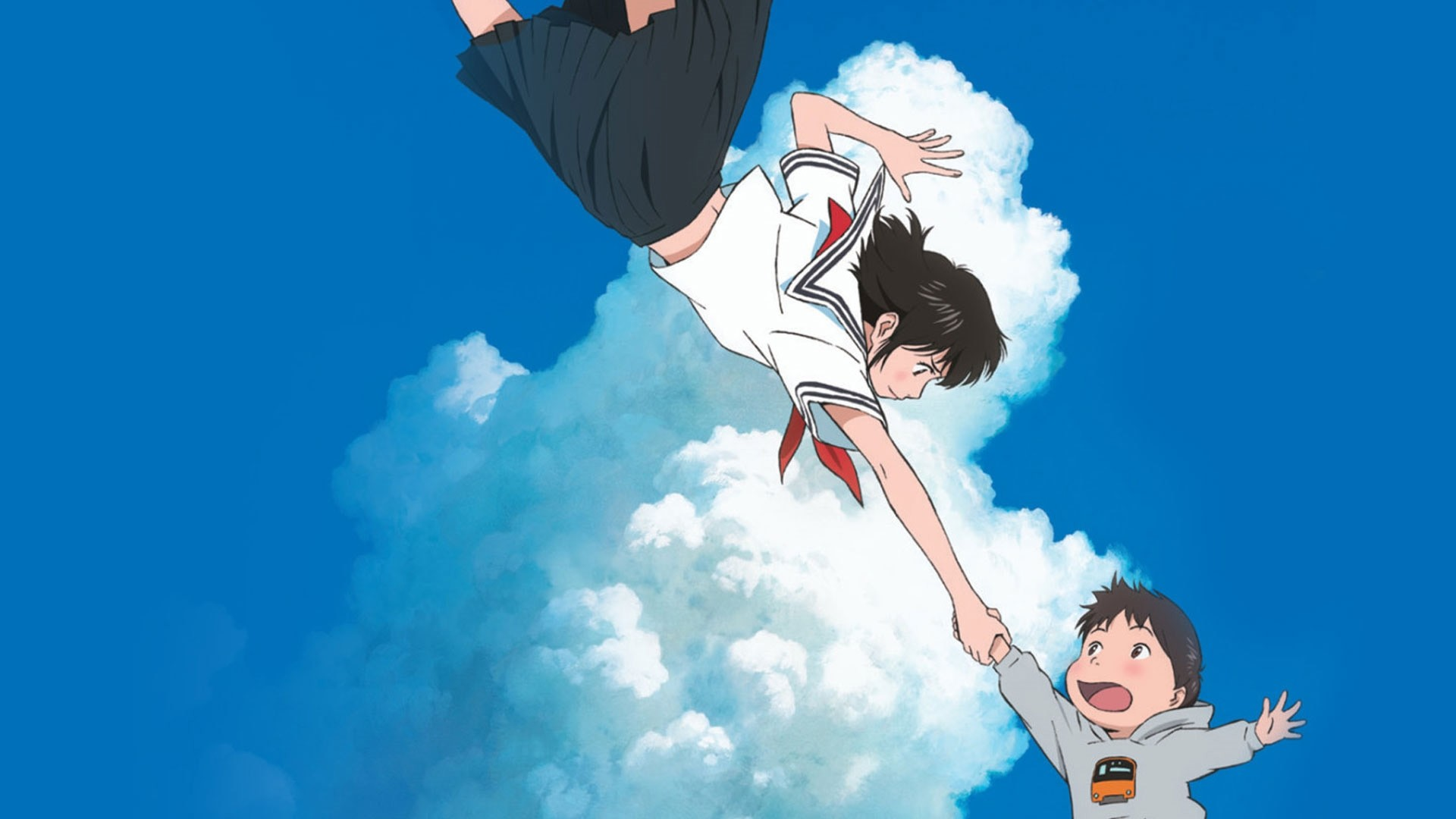 Mirai an anime between past and future