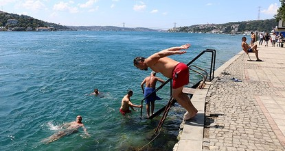 Turkey's temps 1.3 degrees above average in July