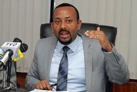 New Ethiopian PM swears in, vows reform to defuse ethnic tensions