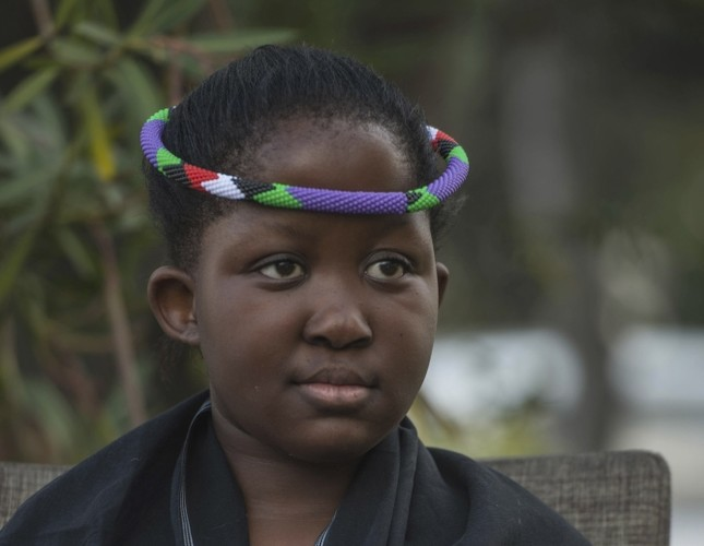 South Africa's preteen queen with 'rainmaking' powers