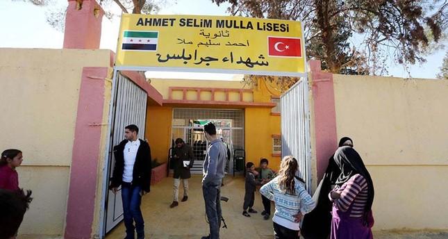 التعليم التركية تتولى تجهيز المدارس في المناطق التي حررتها درع الفرات