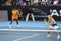 Williams-Wozniacki team advances in ATP Auckland Open