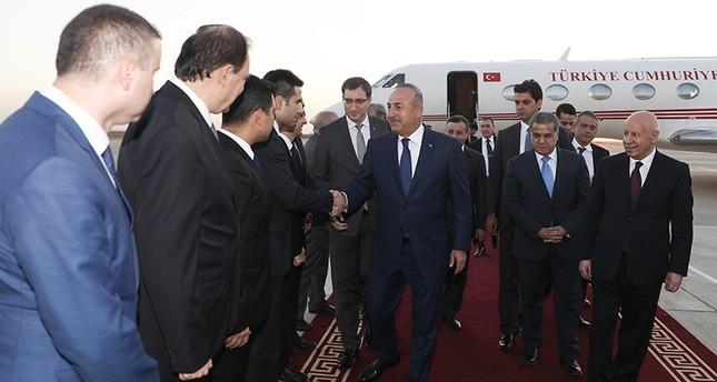 وزير الخارجية التركية يصل أربيل في زيارة رسمية