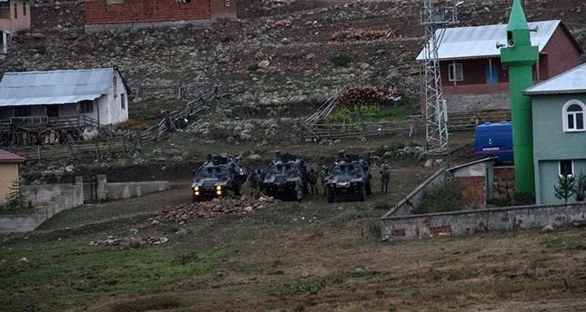 مقتل 6 إرهابيين من بي كا كا بولاية أوردو شمالي تركيا
