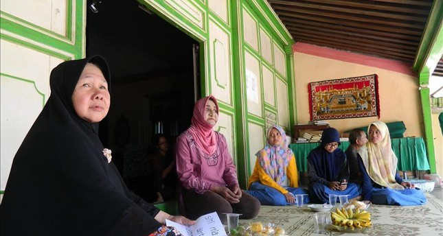 The women living at the school are united in their desire to study Islam and worship freely.