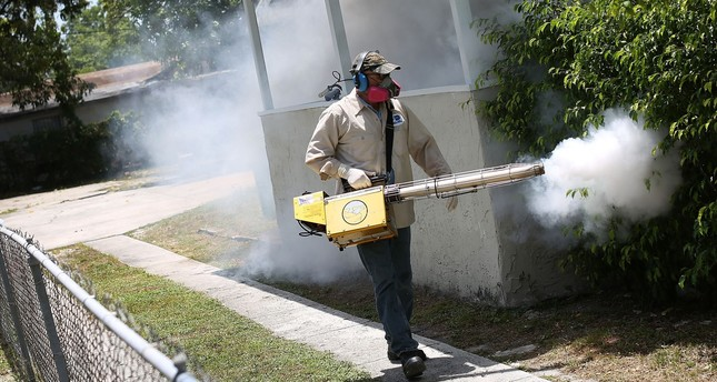 Florida to start aerial spraying of insecticides to tackle Zika