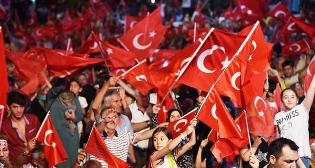 لليوم التاسع.. الأتراك يواصلون التظاهر تنديدًا بمحاولة الانقلاب الفاشلة