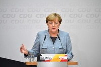 The single currency and European stocks slipped on Monday after the bloc's most powerful leader German Chancellor Angela Merkel won a fourth term but faced a fractured parliament as support for the...