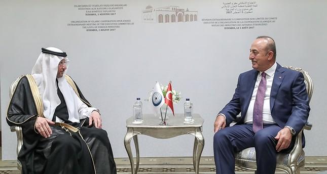 جاوش أوغلو يلتقي الأمين العام لمنظمة التعاون الإسلامي في إسطنبول