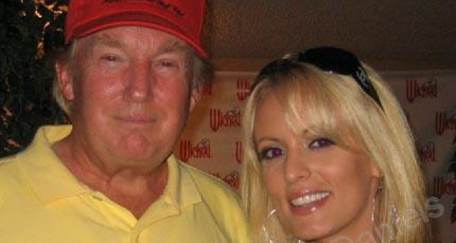 A photo of Trump and Clifford which was uploaded to her Myspace account in 2006.