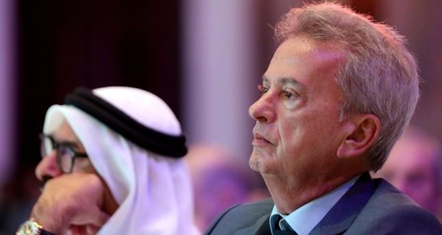حاكم مصرف لبنان المركزي رياض سلامة في أبو ظبي 2019 رويترز