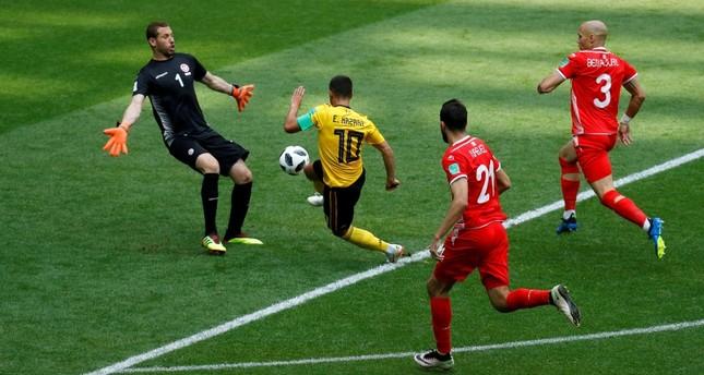 بعد فوزه على نظيره التونسي.. المنتخب البلجيكي يتأهل إلى دور الـ16