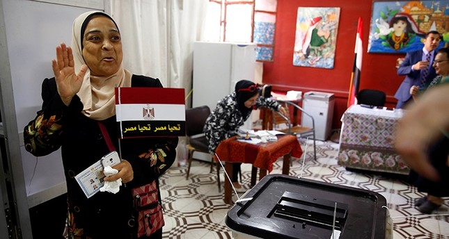 Egyptians head to polls in election set to hand el-Sissi