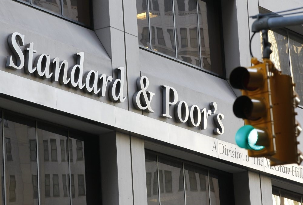 Standard & Poors' building in New York's financial district. According to S&P senior director, Turkish banks outperform their equivalents elsewhere.