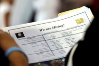 US posts strong job growth in June, unemployment slightly rises to 4 percent