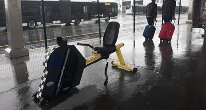 Energy-producing bikes placed at Istanbul's public transport stations