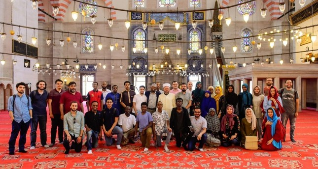 Somali-American guests toured mosques and landmarks in Turkey.