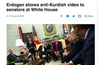 BBC wrongly labels anti-terror video shown by Erdoğan in White House visit 'anti-Kurdish'