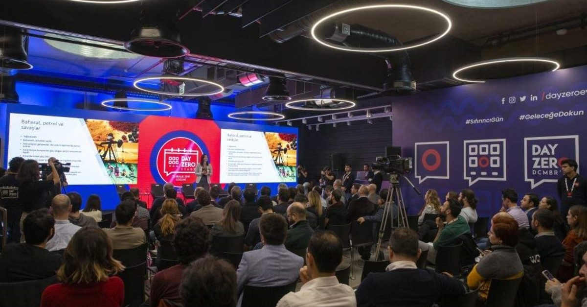 Middle East Technical University's Day Zero event brought together startups starting from scratch with investors and mentors. (AA Photo)